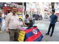 Zonguldak Kömürspor'a katkı için stand açıp bilet sattılar