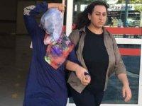 Konya'da kezzap atan kadın tutuklandı