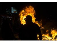 Yunanistan'da olaylı ırkçılık karşıtı gösteri
