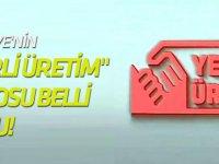 """Türkiye'nin """"yerli üretim"""" logosu belli oldu!"""