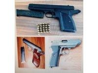 Silah ticareti yapan bir kişi gözaltına alındı