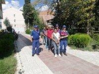 İnşaatlardan 50 bin TL'lik malzeme çalan 5 kişi tutuklandı
