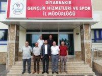 Atletizm Federasyonu Başkanı Çintımar'dan ziyaret