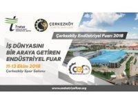 Çerkezköy Endüstriyel Fuarı 11 Ekim'de açılıyor