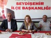 MHP Konya Milletvekili Kara Seydişehir'de