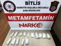 İranlı şahsın midesinden 120 gram metamfetamin çıktı