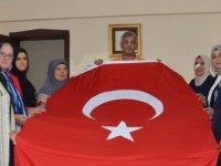 Karataylı kadınlardan 19 Eylül Gaziler Günü ziyaretleri