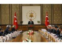 Cumhurbaşkanı Erdoğan, ABD'li şirketlerin Türkiye temsilcilerini kabul etti