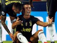 Ronaldo, gözyaşlarını tutamadı
