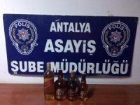 Antalya'da büfe hırsızları yakalandı