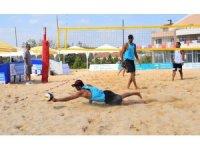 Nilüfer'de plaj voleybolu heyecanı