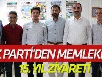 AK Parti'den Memleket'e 15. yıl ziyareti