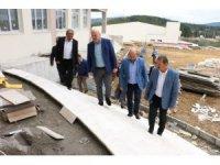 AK Parti'li Gündoğdu, ilçelerde projeleri inceledi