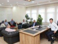 Başkan Gün'den Kaymakam Onay'a hayırlı olsun ziyareti
