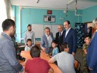 Başkan Altay, Güneysınır'da yatırımları inceledi