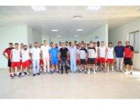 Manavgat Belediyespor sezonun ilk maçını, Kuşadasıspor'la yapacak