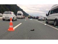 Rize'de otomobilin çarptığı yaya yaşamını yitirdi