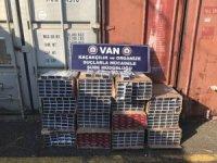 Van'da 16 bin 500 paket kaçak sigara ele geçirildi