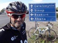 Bisikletten düşen adam yaşamını yitirdi