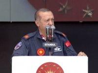 Erdoğan: Tehdit edildiğimiz anlar oldu!
