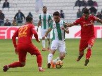 Kayserispor: 0 - Atiker Konyaspor: 2 (İlk yarı)