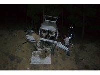 Karabük'te otomobil devrildi: 2 yaralı