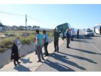 Çanakkale'de otobüs kazası: 6 yaralı