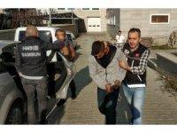 İstanbul'dan yolcu otobüsü ile 1,5 kilo bonzai getirirken yakalandı