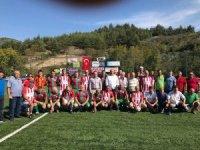 Mudanya Dereköy'de köyler ligi başladı
