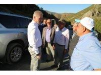 Sivas Valisi Gül'den köy ziyaretleri
