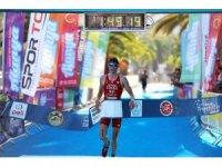 Alanya'da triatlon heyecanı sona erdi