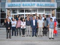 Konya Sanat Etkinlikleri NEÜ Güzel Sanatlar Fakültesinin Sergisi ile Başladı