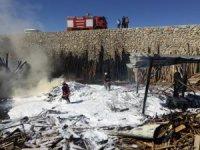 Malatya'da yangında maddi hasar oluştu