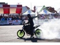 Motosiklet Festivali'ne iki günde 10 bin kişi katıldı