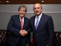 Bakan Çavuşoğlu New York temaslarına devam ediyor