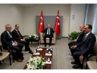 Cumhurbaşkanı Erdoğan, KKTC Dışişleri Bakanı Özersay'ı kabul etti