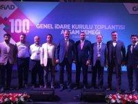Yıldızgörer, MÜSİAD 100. Genel İdare Kurulu'na katıldı