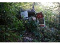 Gümüşhane'de yayla dönüşü minibüs uçuruma yuvarlandı: 3 ölü, 3 yaralı