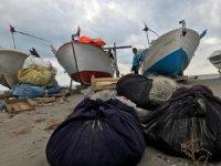 """Balıkçılardan """"kestane karası fırtınası""""na önlem"""