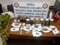 Kavanoz'da esrar ticaretine operasyon