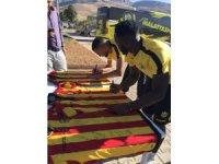 Evkur Yeni Malatyaspor taraftarından imzalı formalara büyük ilgi