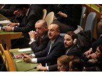 Cumhurbaşkanı Erdoğan, BM 73. Genel Kurulu'na hitap etti