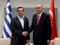Cumhurbaşkanı Erdoğan, Yunanistan Başbakanı Çipras ile görüştü