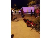 Kuşadası'nda trafik kazası; 1 yaralı