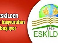 ESKİLDER'de burs başvuruları başladı