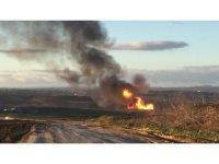 GÜNCELLEME 2- Silivri'de doğalgaz hattında patlama