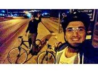 Takla atan bisiklet sürücüsü hayatını kaybetti