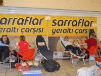 Sarraflar Yeraltı Çarşısı Kan Bağışı Organizasyonu