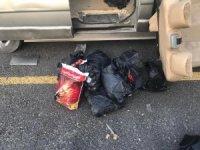 Van'da kaçak sigara ve çay operasyonu