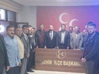 MHP Akşehir'de görev dağılımı yapıldı